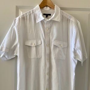Banana Republic Factory men's XL linen shirt